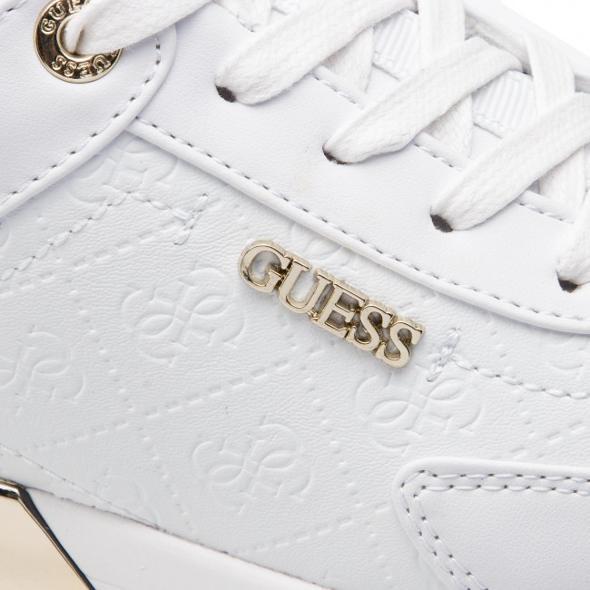 907fcc54e52a67 Sneakers GUESS - Marlyn FL5MRL FAL12 WHITE - Sneakers - Scarpe basse -  Donna - escarpe.it
