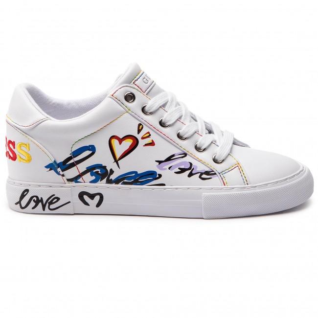 scarpe da ginnastica GUESS GUESS GUESS FL5PXT ELE12 bianca