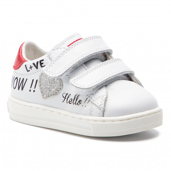 Sneakers NATURINO - Falcotto By Naturino 0012013593.01.1N10 Bianco Rosso 11903c2dd9e