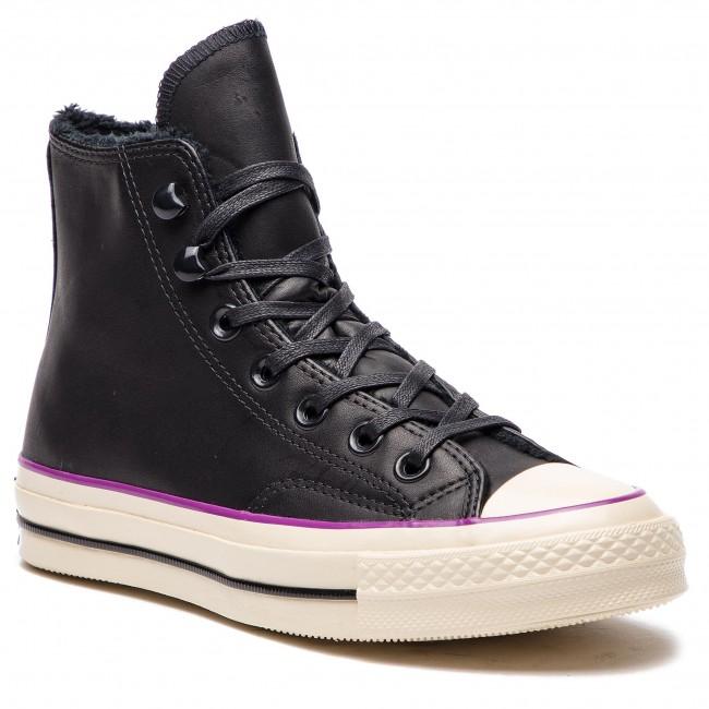 bae4810322 Scarpe da ginnastica CONVERSE - Chuck 70 Hi 162433C Black/Icon Violet