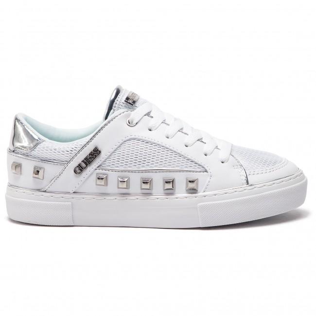 Fab12 Scarpe Sneakers Basse Fl5gal White Guess wSgqfEP