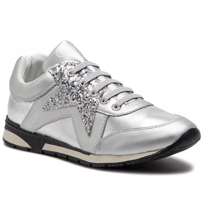 d8e257339c Sneakers GUESS - Litzy FJ5LIT ELE12 SILVER - Sneakers - Scarpe basse ...