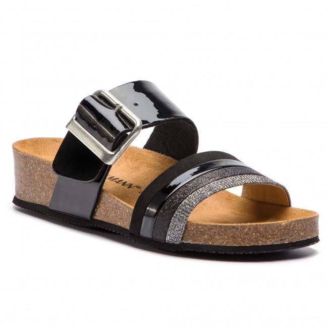 Ciabatte DR. BRINKMANN - 701303 nero 1 - Ciabatte da giorno - Ciabatte - Ciabatte e sandali - Donna | nuovo venuto  | Uomo/Donne Scarpa