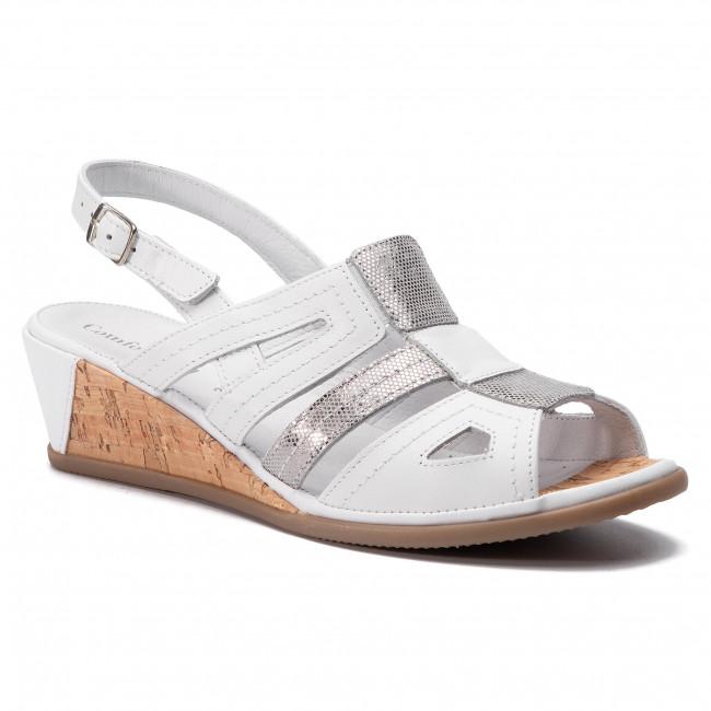 Sandali COMFORTABEL - 710942 Weiss argento 3 - Sandali da giorno - Sandali - Ciabatte e sandali - Donna | Prezzo giusto  | Uomo/Donna Scarpa