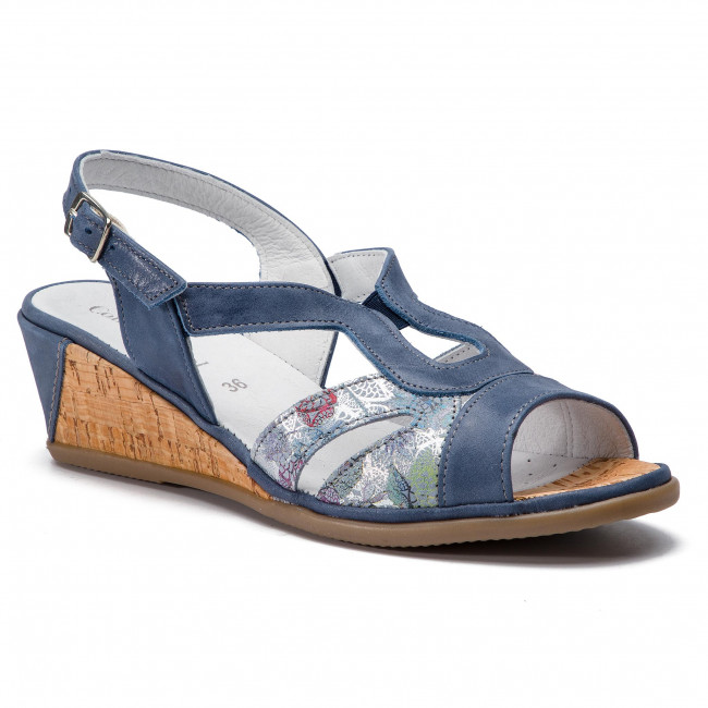 Sandali COMFORTABEL - 710944 Cobalt 5 - Zeppe - Ciabatte e sandali - Donna | Aspetto estetico  | Uomo/Donne Scarpa