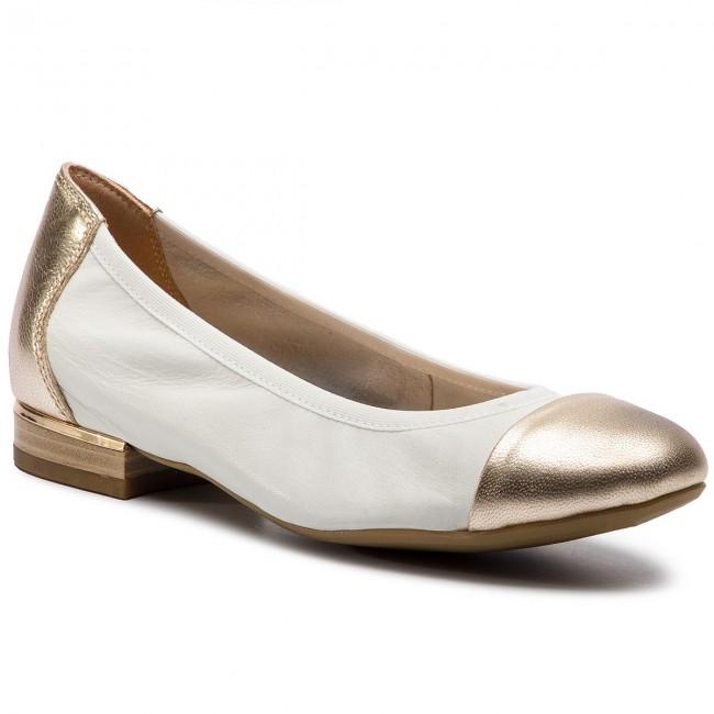 Ballerine CAPRICE - 9-22156-22 bianca oro 107 - Ballerine - Scarpe basse - Donna | Molte varietà  | Gentiluomo/Signora Scarpa
