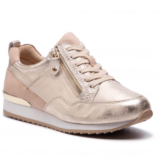 scarpe da ginnastica CAPRICE - 9-23600-22 Lt oro Comb 977 - scarpe da ginnastica - Scarpe basse - Donna   Qualità E Quantità Garantita    Scolaro/Ragazze Scarpa