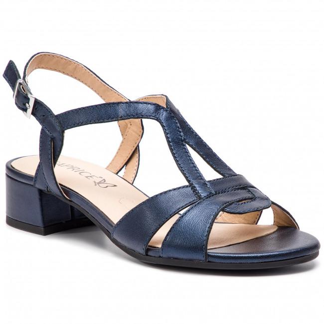 Sandali CAPRICE - 9-28201-22 Navy Perlato 807 - Sandali da giorno - Sandali - Ciabatte e sandali - Donna | Nuovi Prodotti  | Maschio/Ragazze Scarpa
