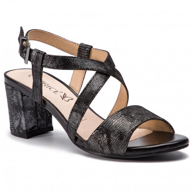 Sandali CAPRICE - 9-28300-22 nero Rept.Mul 014 - Sandali da giorno - Sandali - Ciabatte e sandali - Donna   Usato in durabilità    Maschio/Ragazze Scarpa
