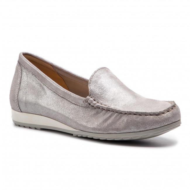 Mocassini CAPRICE - 9-24211-22 argento Glitter 944 - Mocassini - Scarpe basse - Donna | Grande Varietà  | Scolaro/Ragazze Scarpa