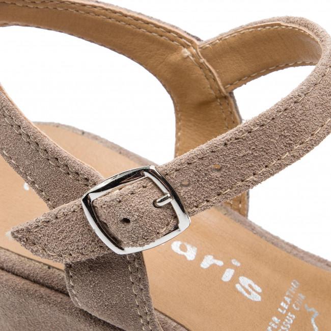 Espadrillas TAMARIS - 1-28062-22 Taupe 341 - Espadrillas - Ciabatte e sandali - Donna