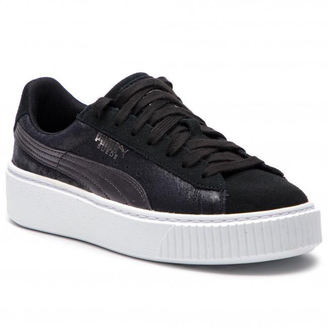 scarpe da ginnastica PUMA - Suede Platform Safari Wn's 364594 03 Puma nero Puma nero - scarpe da ginnastica - Scarpe basse - Donna | Facile da usare  | Scolaro/Signora Scarpa