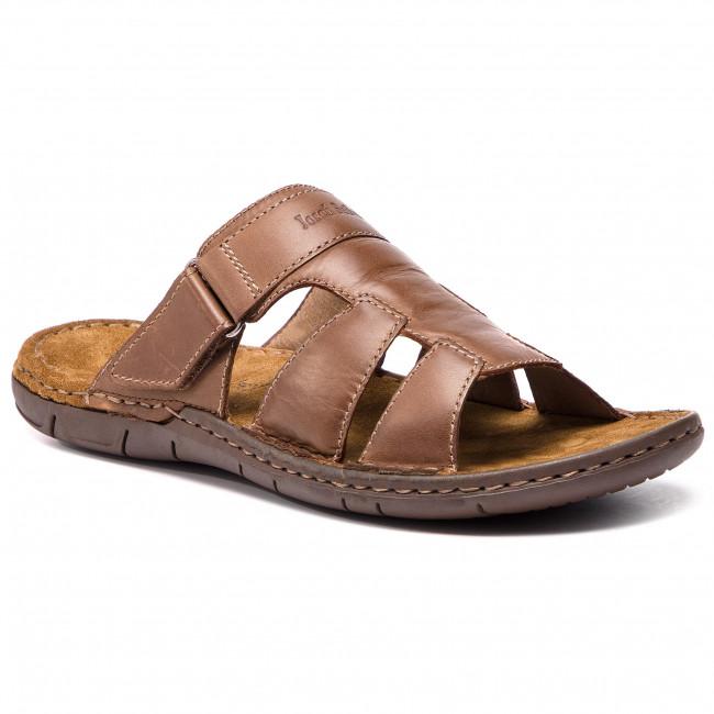 Ciabatte JOSEF SEIBEL - Paul 12 43212 84 320 Brandy - Ciabatte - Ciabatte e sandali - Uomo | prezzo di vendita  | Uomini/Donna Scarpa