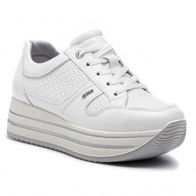 a8924ce355f1e Sneakers IGI CO - 3160611 Bianco - Sneakers - Scarpe basse - Donna ...