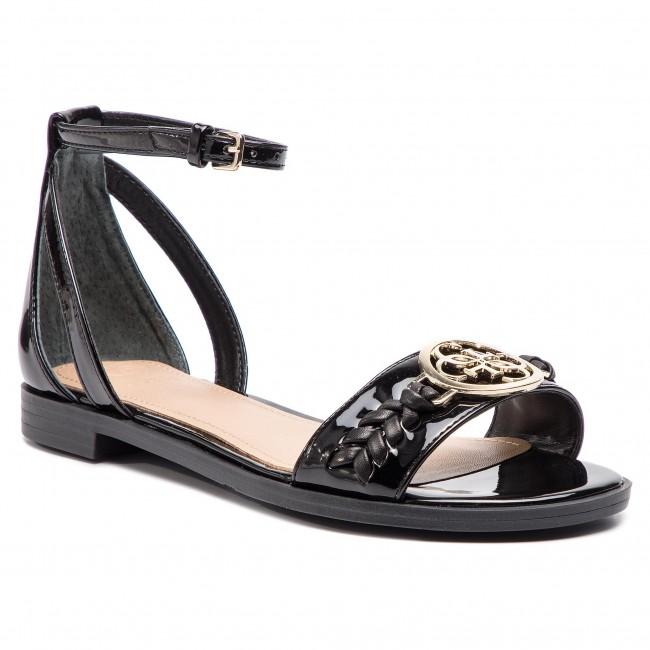 Sandali GUESS - Reaka2 FL6RK2 PAF03 nero - Sandali da giorno - Sandali - Ciabatte e sandali - Donna | Essere Nuovo Nel Design  | Uomini/Donne Scarpa