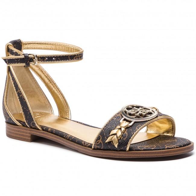 Sandali GUESS - FL6RKA FAL03 Marronee - Sandali da giorno - Sandali - Ciabatte e sandali - Donna | Outlet Online Store  | Uomo/Donne Scarpa