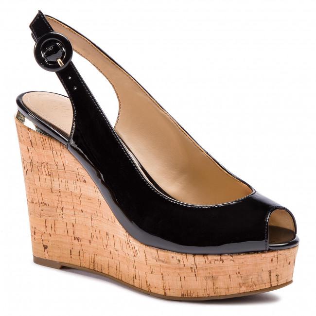 Sandali GUESS - Hardy2 FL6HD2 PAF04  nero - Zeppe - Ciabatte e sandali - Donna   Delicato    Scolaro/Signora Scarpa