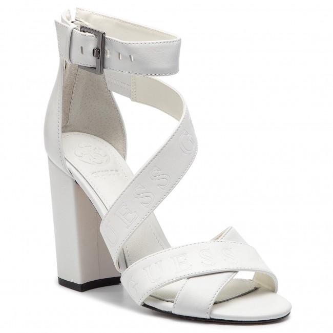 Sandali GUESS - FL6KOR LEA03  bianca - Sandali da giorno - Sandali - Ciabatte e sandali - Donna | Nuovo  | Gentiluomo/Signora Scarpa