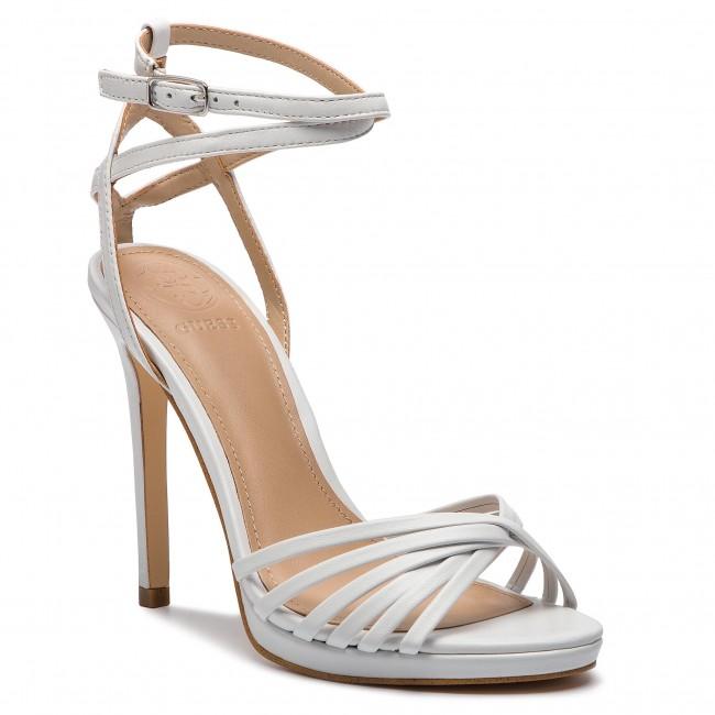 Sandali GUESS - FL6TNY LEA03 bianca - Sandali eleganti - Sandali - Ciabatte e sandali - Donna | Cheapest  | Uomini/Donna Scarpa