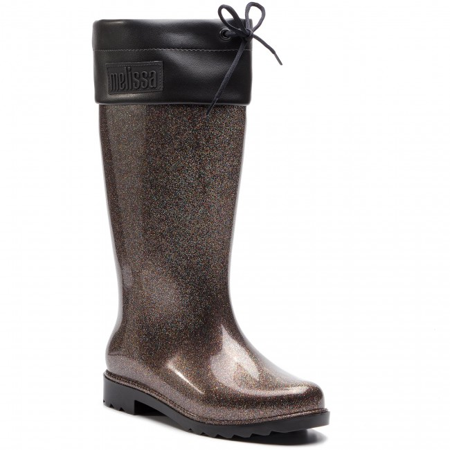 Wellington MELISSA - Rain avvio Ad 32422 nero Glitter 52324 - Stivali da pioggia - Stivali e altri - Donna | Grande Varietà  | Scolaro/Ragazze Scarpa