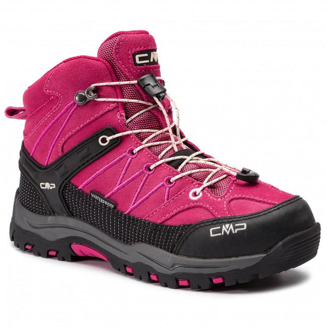 Scarpe da trekking CMP - Kids Rigel Mid Trekking Shoes Wp 3Q12944J  Geraneo Off White ce8408764c3