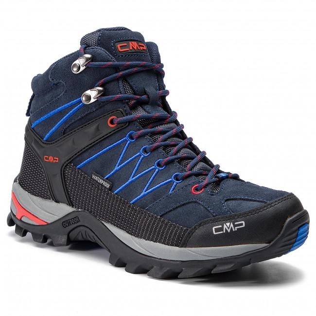 Scarpe Mid B Chaussures Wp Da blue Rig 3q12947 Trekking dBCxrEQoWe