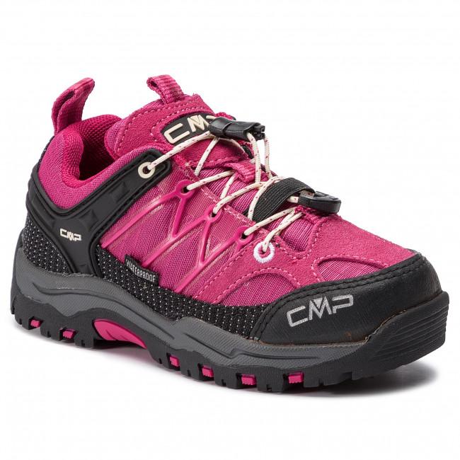 Scarpe da trekking CMP - Kids Rigel Low Trekking Shoes Wp 3Q54554  Geraneo Off White d6f2e6dd333