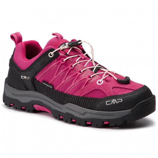 Scarpe da trekking CMP - Kids Rigel Low Trekking scarpe Kids Wp 3Q54554J Geraneo Off bianca - Scarpe da trekking e scarponcini - Scarpe basse - Donna   Ottima selezione    Scolaro/Ragazze Scarpa