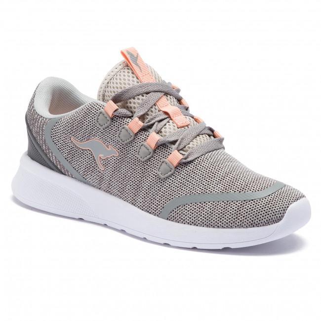 Scarpe KANGAROOS - Kf Lock 18318 000 2075 Vapor grigio Dusty rosa - Fitness - Scarpe sportive - Donna | Lavorazione perfetta  | Maschio/Ragazze Scarpa
