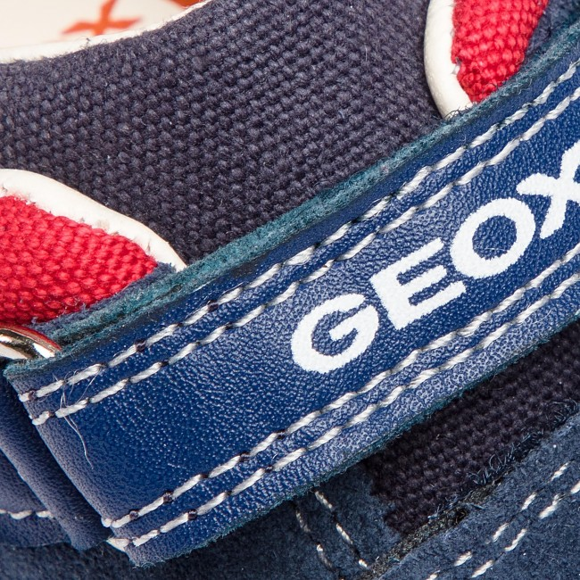 Sneakers GEOX B Rishbon B. A B840RA 08510 C0735 M NavyRed