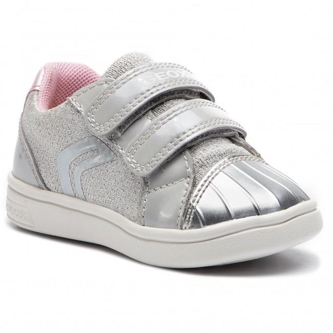 83939e856bdfa1 Sneakers GEOX - B Djrock G. E B921WE 0EWHI C1010 M Lt Grey - Con ...