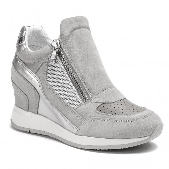 scarpe da ginnastica GEOX - D Nydame A D620QA 022NF C1010 Lt grigio  - scarpe da ginnastica - Scarpe basse - Donna | Uscita  | Uomini/Donna Scarpa