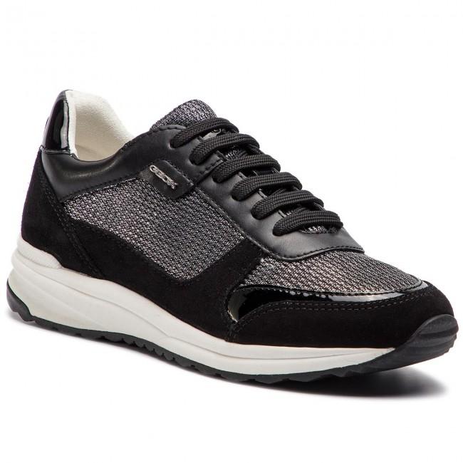 scarpe da ginnastica GEOX - D Airell C D642SC 0LY22 C1223 Gun nero - scarpe da ginnastica - Scarpe basse - Donna | Acquisti  | Uomini/Donna Scarpa