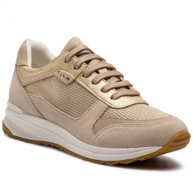 Sneakers GEOX - D Airell C D642SC 0LY22 CB55A Champagne Beige ... 722a977aa4d