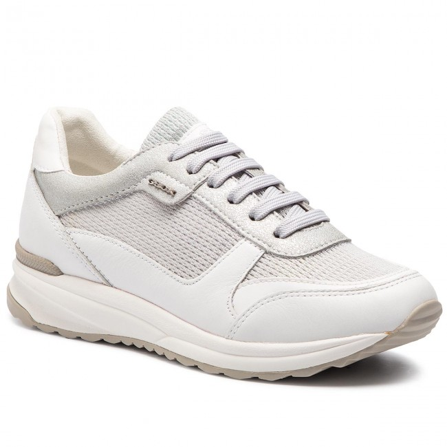 Sneakers Airell 0ly85 Silverwhite D642sc Geox C D C0434 wOnPk0