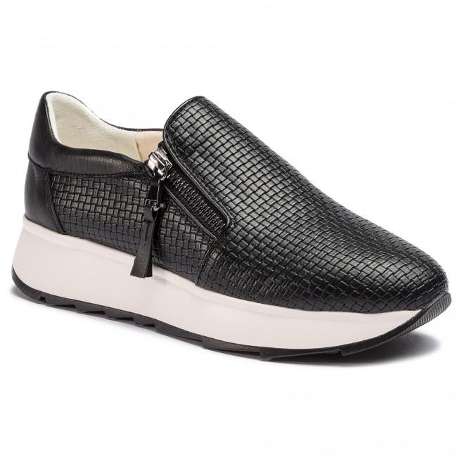 scarpe da ginnastica GEOX - D Gendry A D925TA 0QU85 C9999 nero - scarpe da ginnastica - Scarpe basse - Donna | Dall'ultimo modello  | Uomini/Donna Scarpa