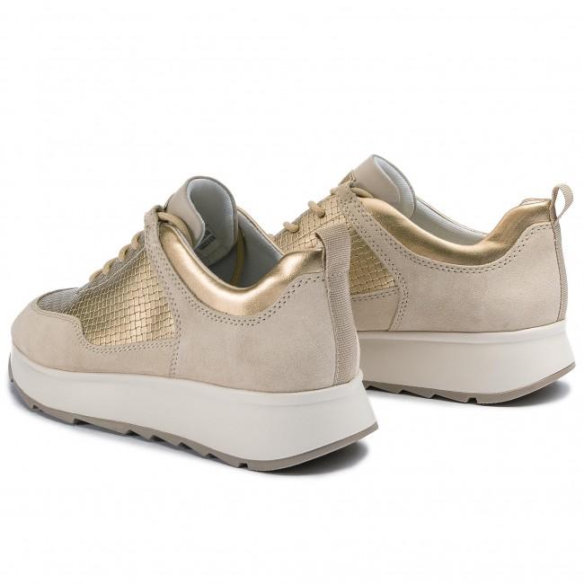 scarpe da ginnastica GEOX - - - D Gendry B D925TB 022QU C5002 Cream - scarpe da ginnastica - Scarpe basse - Donna   Acquisti online    Uomini/Donna Scarpa  0d26a5