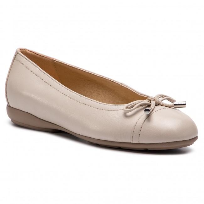 Ballerine GEOX - D Annytah D D927ND 00085 C6738 Lt Taupe - Ballerine - Scarpe basse - Donna | Area di specifica completa  | Sig/Sig Ra Scarpa