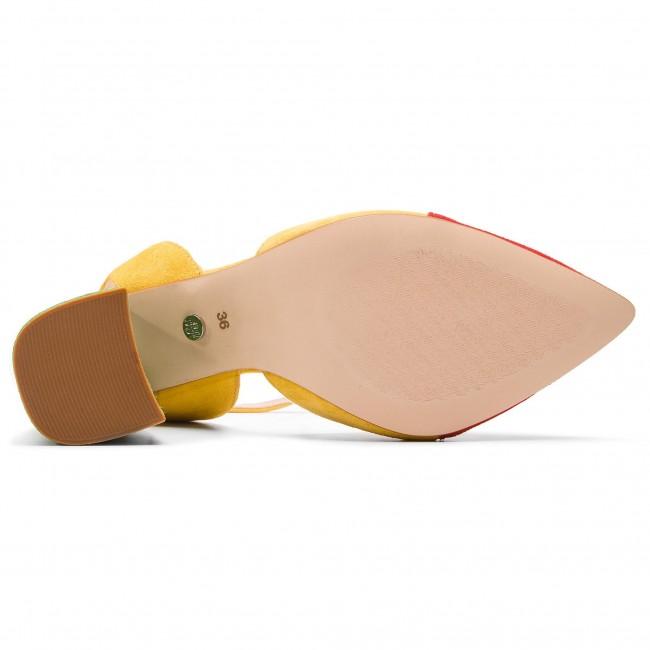 Sandali SOLO FEMME - 14157-8A-G13/G22-05-00 Giallo Rosso Verde - Sandali da giorno - Sandali - Ciabatte e sandali - Donna