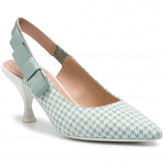 Sandali GEOX - D Elisangel M.A D92BWA 00766 C0464 Lt verde bianca - Sandali eleganti - Sandali - Ciabatte e sandali - Donna   Qualità Superiore    Sig/Sig Ra Scarpa