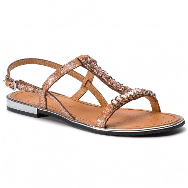 Sandali GEOX -  D Sozy Plus G D92DQG 000MA C7008 Coral - Sandali da giorno - Sandali - Ciabatte e sandali - Donna | unico  | Uomo/Donna Scarpa