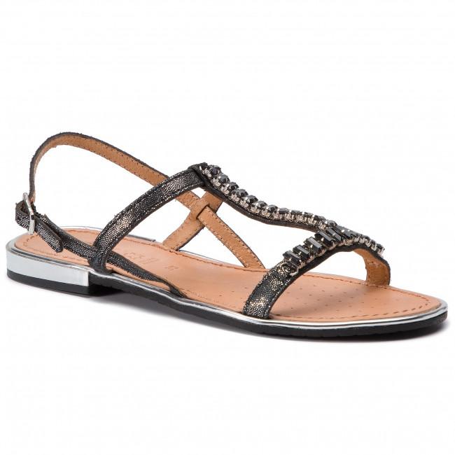 Sandali GEOX - D Sozy Plus G D92DQG 000MA C9999 nero - Sandali da giorno - Sandali - Ciabatte e sandali - Donna | Outlet Store Online  | Uomini/Donne Scarpa
