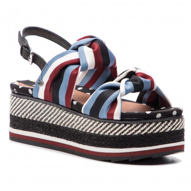 Espadrillas GIOSEPPO - Xathi 47206  nero - Espadrillas - Ciabatte e sandali - Donna | Di Prima Qualità  | Scolaro/Ragazze Scarpa