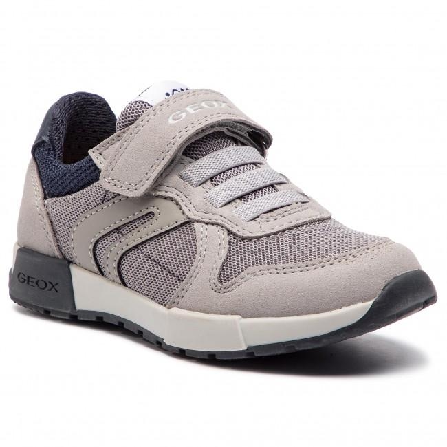 b2f7d783be Sneakers GEOX - J Alfier B. C J846NC 014AF C0665 S Grey/Navy ...