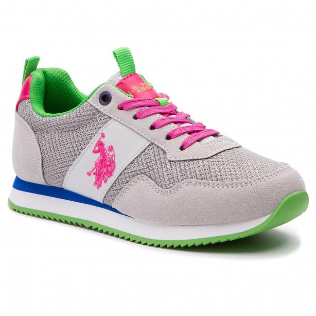 scarpe da ginnastica U.S. POLO ASSN. - Teva NOBIW4156S9 HN1 grigio - scarpe da ginnastica - Scarpe basse - Donna | attività di esportazione in linea  | Maschio/Ragazze Scarpa