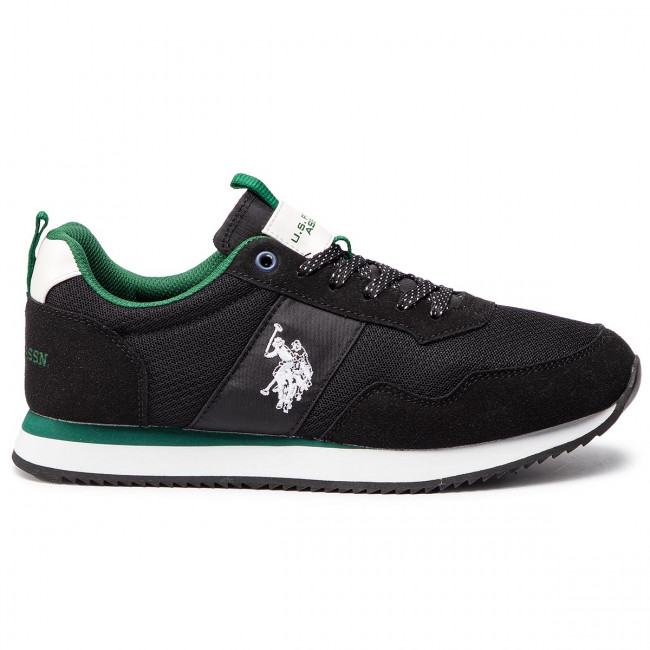 3931955b7d9 Sneakers U.S. POLO ASSN. - Talbot3 NOBIL4215S8/HN3 Blk - Sneakers ...
