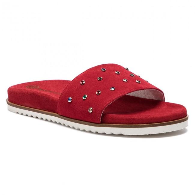 Ciabatte SOLO FEMME - 82605-02-I75 000-06-00 Rosso - Ciabatte da giorno - Ciabatte - Ciabatte e sandali - Donna | Ampie Varietà  | Uomini/Donna Scarpa