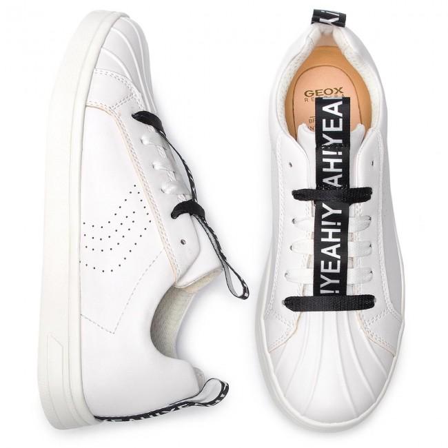 Sneakers GEOX J Djrock G. J J924MJ 000BC C1000 D White