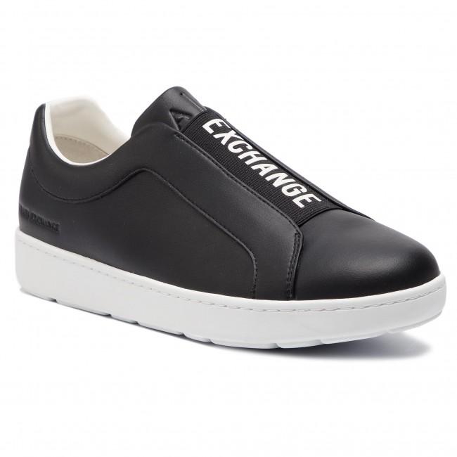 Sneakers ARMANI EXCHANGE - XUX012 XV098 00002 Black - Sneakers ... 57be2a47917