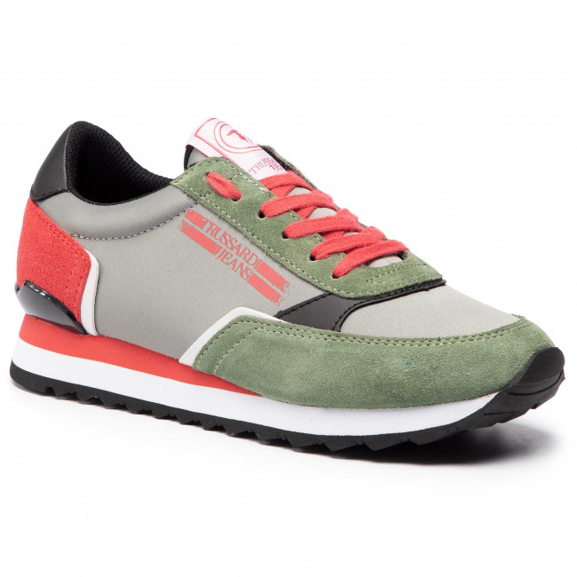scarpe da ginnastica TRUSSARDI JEANS - 79A00339  G609 - scarpe da ginnastica - Scarpe basse - Donna   Vendendo Bene In Tutto Il Mondo    Gentiluomo/Signora Scarpa